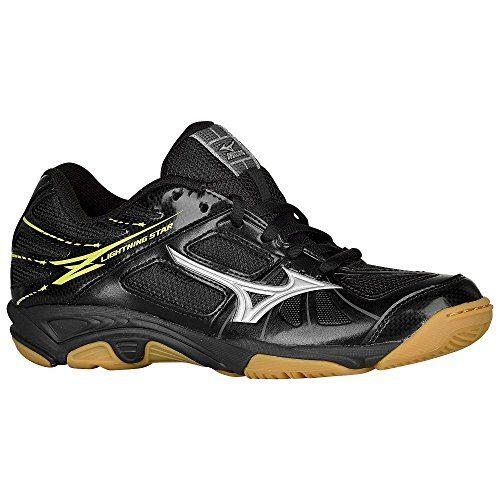 mizuno men's wave lightning z bk-sl volleyball shoe lace